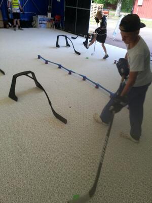 HockeyPractice Hockeygolv begagnat