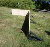 Sargelement formplywood, 18 mm, 120x41 cm